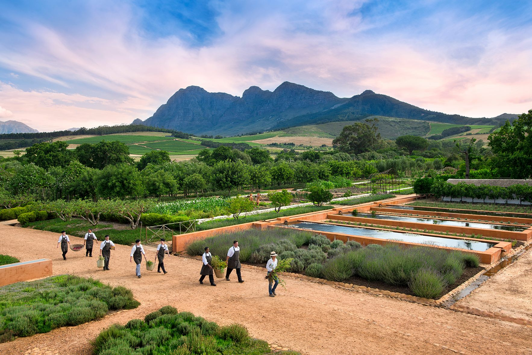 Babylonstoren south africa travel stijlmeisje for Jardin winery south africa