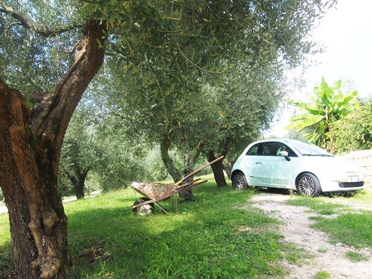 Stijlmeisje on the Italian road
