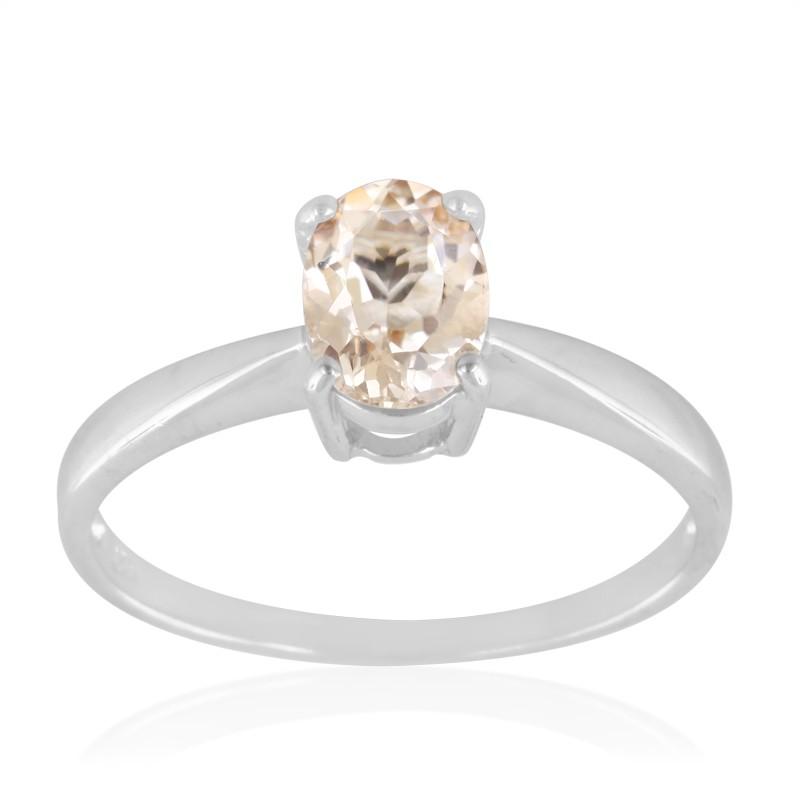 Engagement ring morganite - Stijlmeisje
