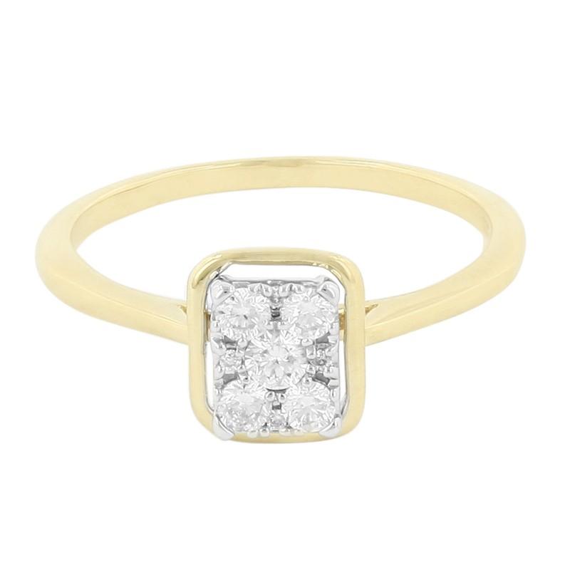 Engagement ring diamant - Stijlmeisje