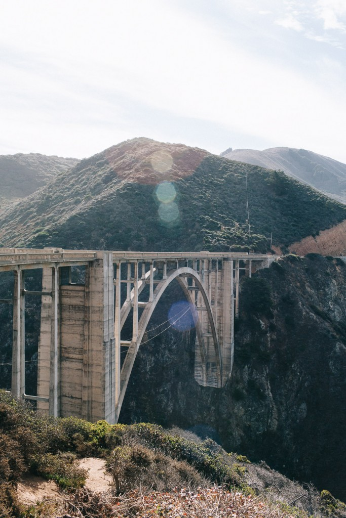 California Bixby Bridge by On a Hazy Morning - Stijlmeisje