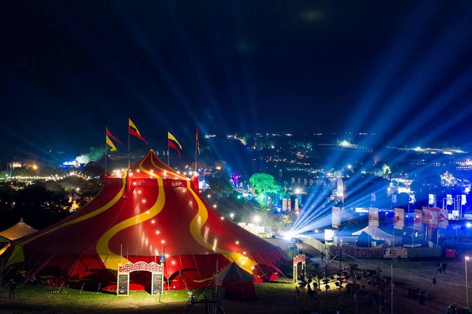 Glastonbury - Festival - Stijlmeisje